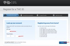 TWC Bill Pay register