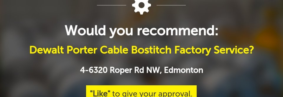 Dewalt Porter cable Bostitch Factory service